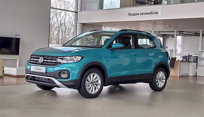 Новий Volkswagen T-Cross
