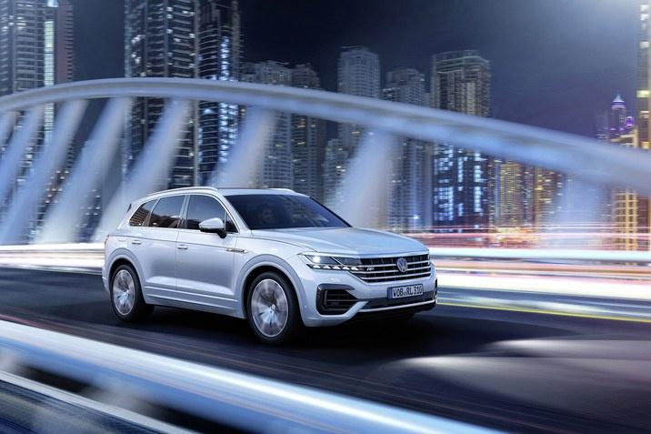 Фари IQ.Light в Volkswagen Touareg
